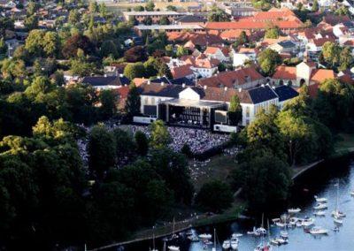 Koncert i slotsparken