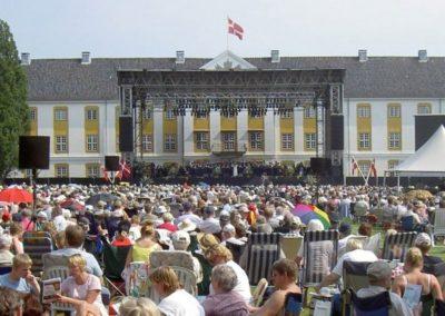 Koncert i slotsparken_Søndag på Als