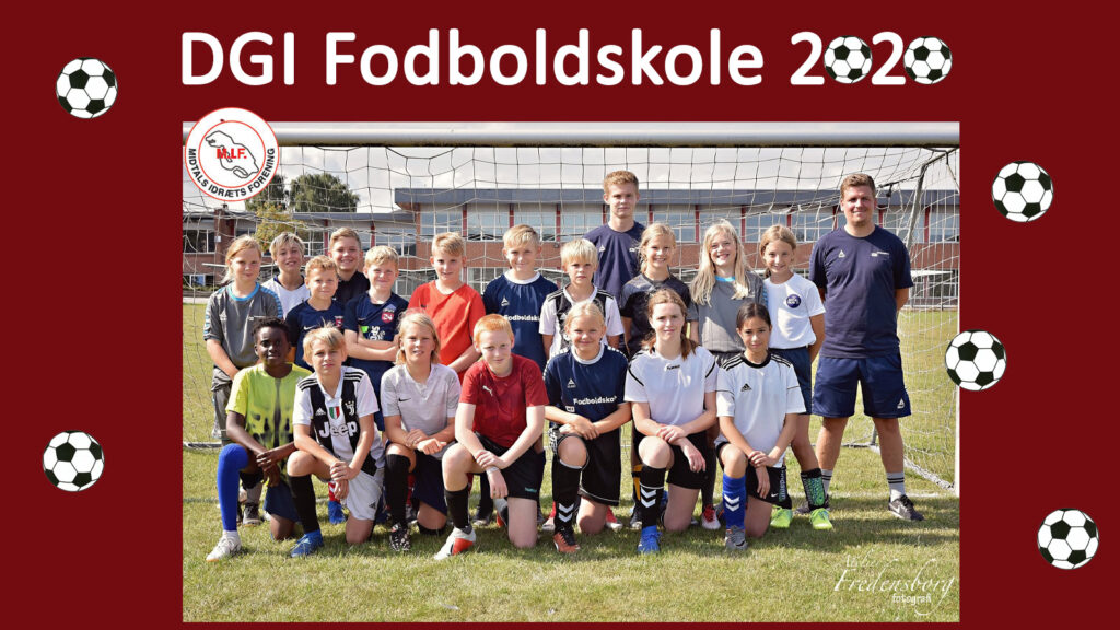 Augustenborghallerne: DGI Fodboldskole 2020