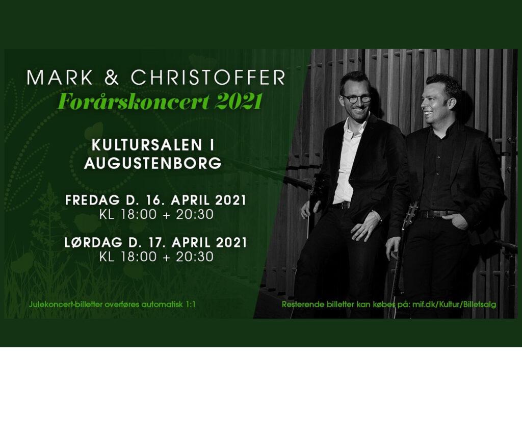 Kultursalen: Forårskoncerter med Mark & Christoffer