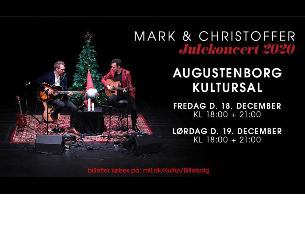 Kultursalen: Julekoncerter med Mark & Christoffer