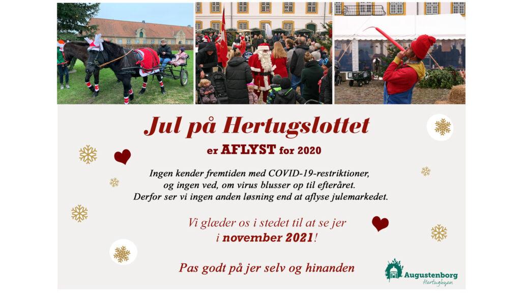 Augustenborg Slotsplads: Jul på Hertugslottet 2020 (AFLYST!!!)