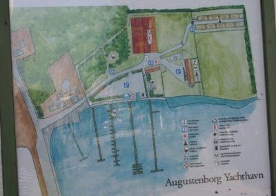 Kort over yachthavn