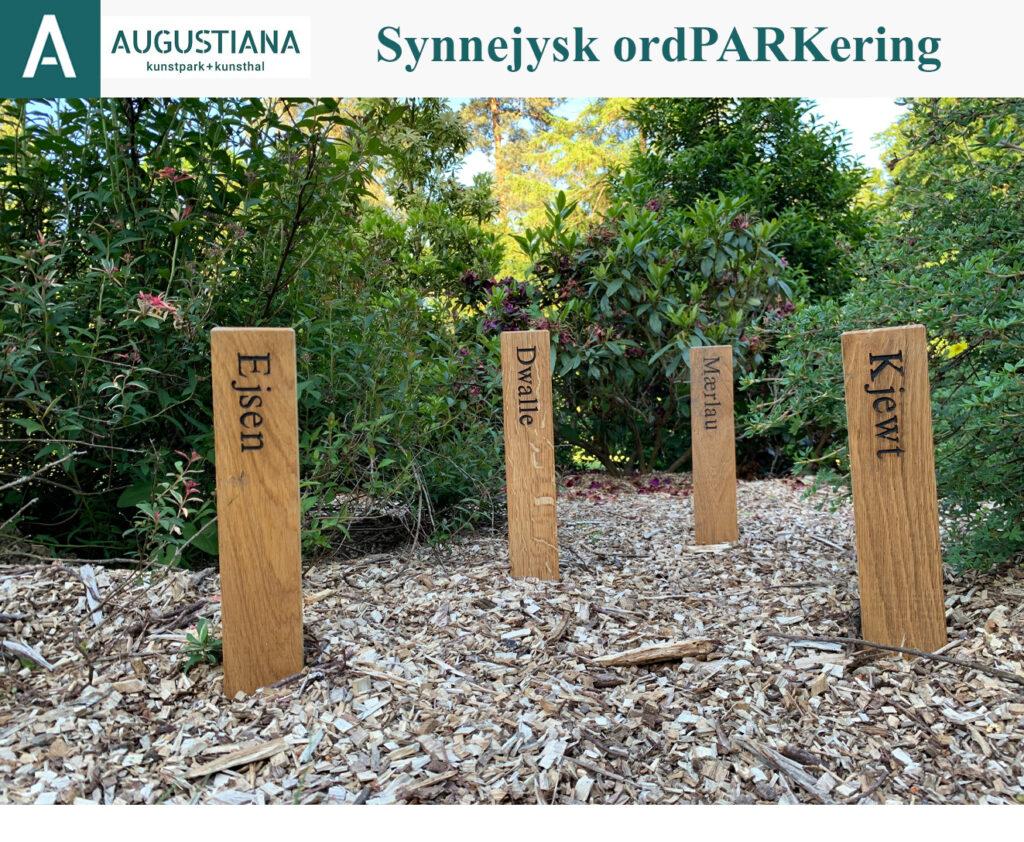 Augustiana Kunstpark & Kunsthal: Synnejysk ordPARKering