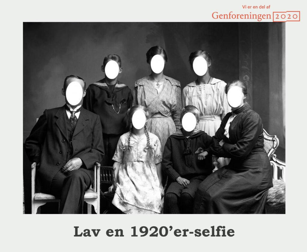 Augustenborg Bibliotek: Lav en 1920'er-selfie